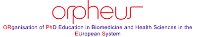 Organisation of PhD education in biomedicine and health sciences in the European system